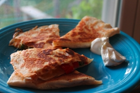 Low-Carb Fajita Quesadillas