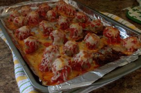 Italian {Turkey} Meatball Sliders